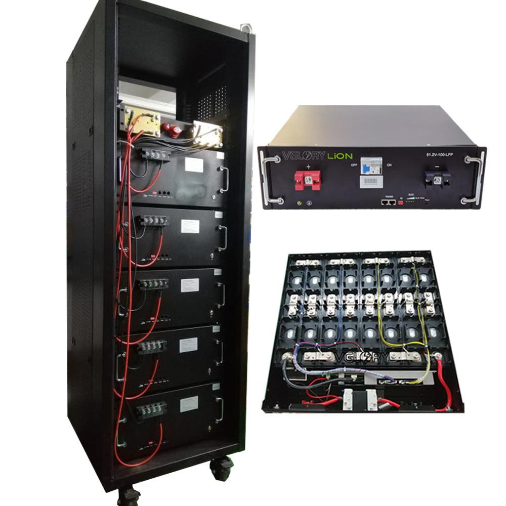 Cabinet Battries Lifepo4 160ah 51.2v 100ah Energy Storage Phosphate Batteries Deep Cycle Ion Battery 48v 200ah Lithium Bat