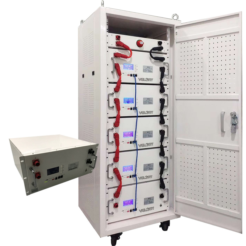 Stable BMS system 10kw 30kw 50kwh home energy electric lithium battery storage