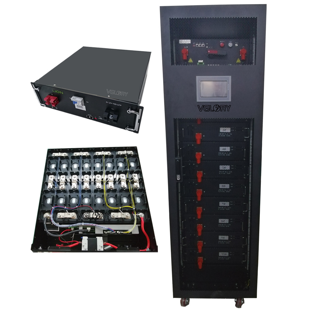 Low self-discharge rate free maintenance rc 50 kwh 50kwh lifepo4 lithium battery