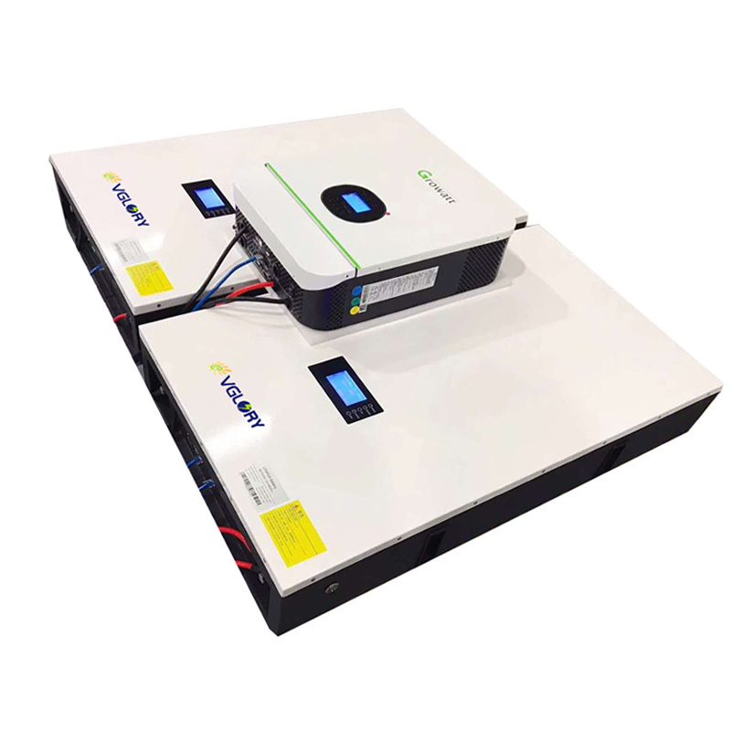 Free maintenance high density rechargeable 10kw 10kwh 10 kwh solar battery storage system for solar panels