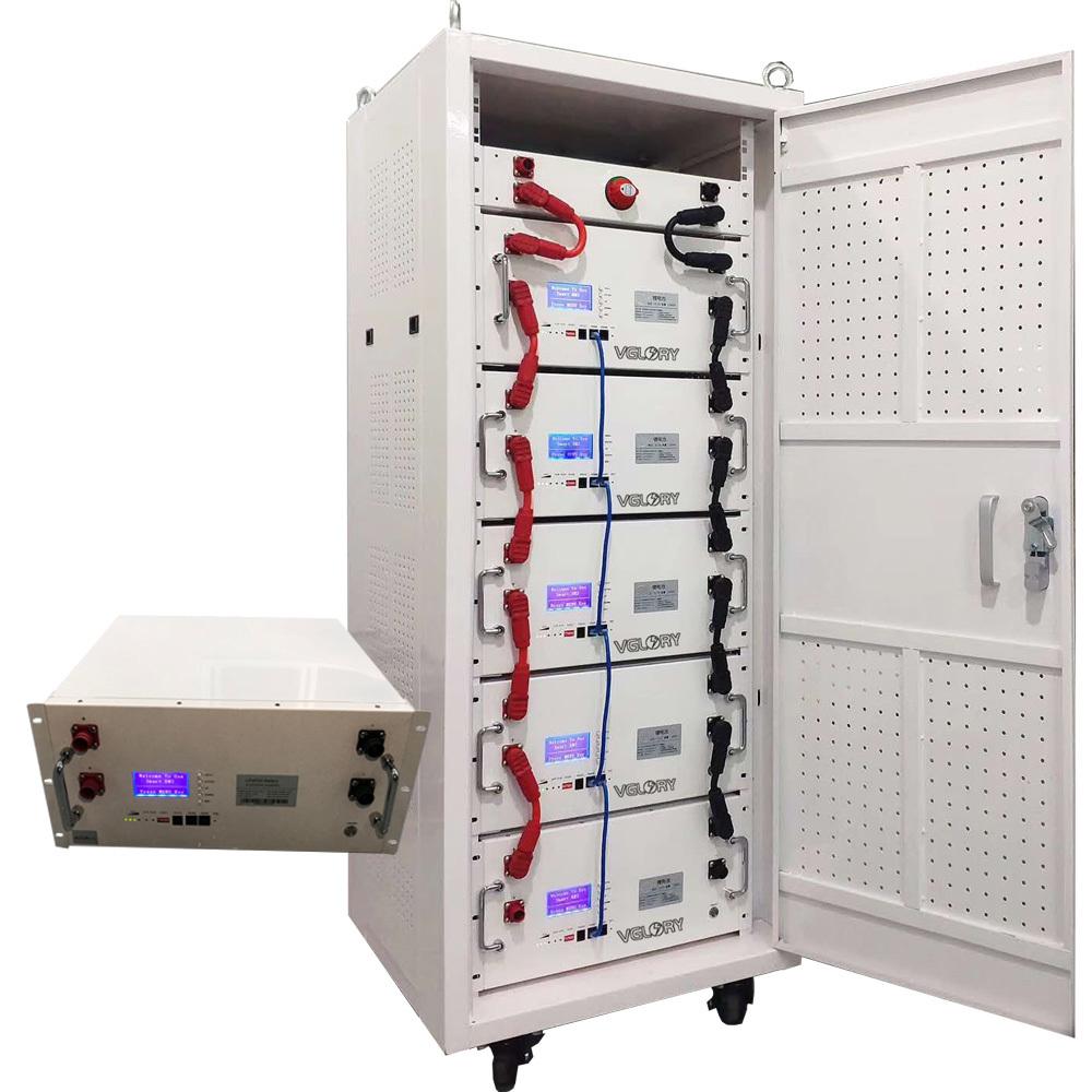 Storage Lto Solar Batteries 48volt Lithium Batetry Lifepo4 24v Li Lipo Green Power 48v Cabinet Battery 50ah 100ah 150ah 200ah