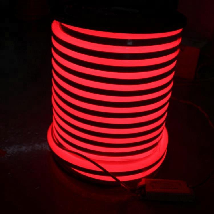 Outdoor Waterproof IP65 180 Luminous Angle Decorative Light 800W Neon LED Strip