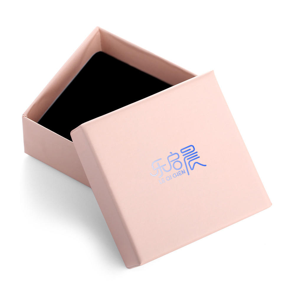 Jewelry Box for Women Portable PU Leather Jewelry Travel OrganizerPink Paper Jewelry Box