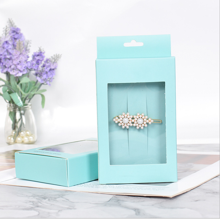 2020 New Recycled Paper Boxes, Jewelry Box,Jewel Paper Case With Custom Logo