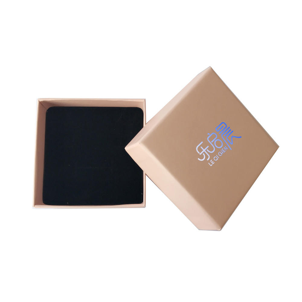 Wholesale Small Size Blue Pu Leather Jewelry Box Travel Box
