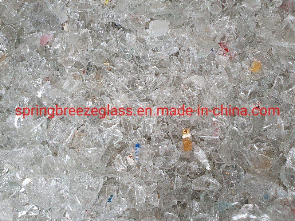 Super White Bottle Glass Cullet for Manufacturing Cosmetic Bottles