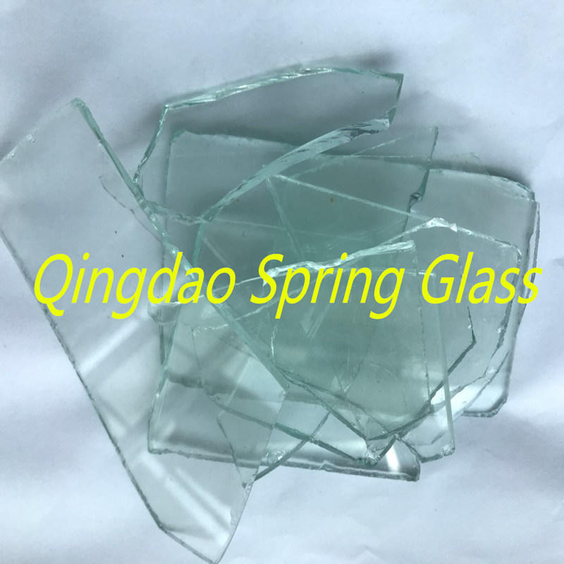 Be Washed Transparent Float Glass Cullets
