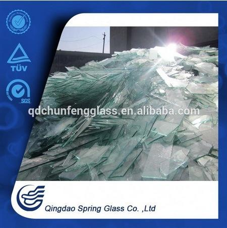 White Clear Glass Sheets Used in Producing Glass Products