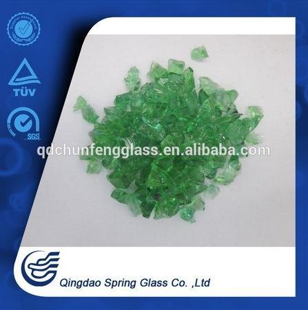 Green Crushed Glass 6-12mm