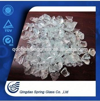 3.0 - 4.0 mm White Clearcrushed Glass Particles