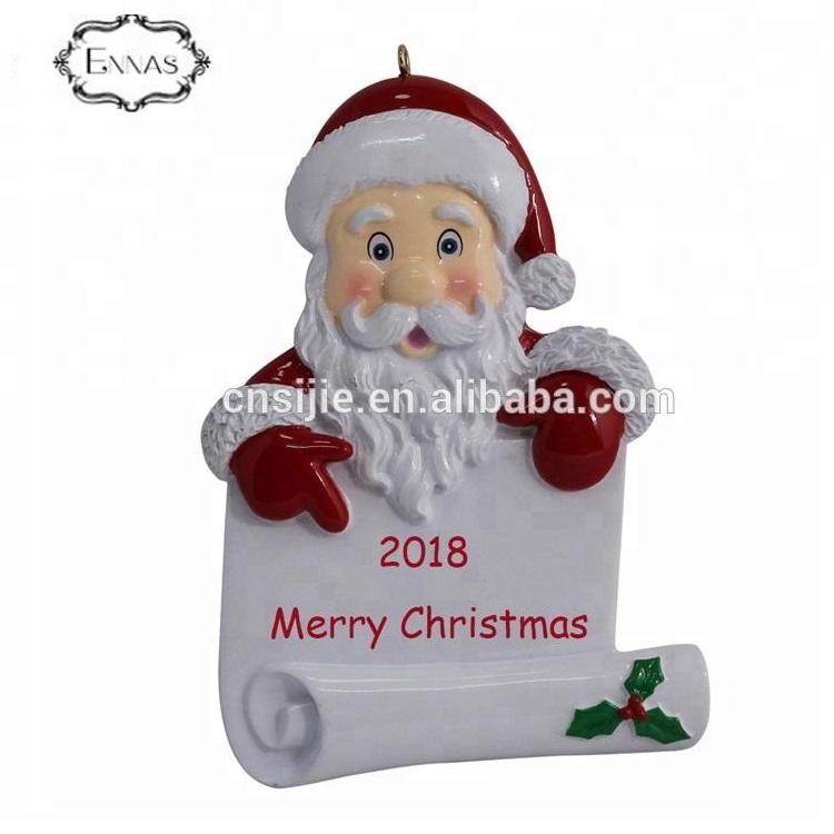 China Wholesale Factory Direct Wholesale Custom Santa Claus Ornament
