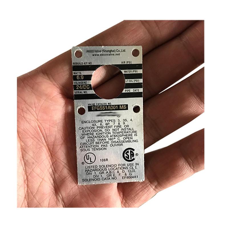 MP-C-113 Pneumatic Valve EFG551A001MS Solenoid Explosion Proof 24V Solenoid Valve Coil