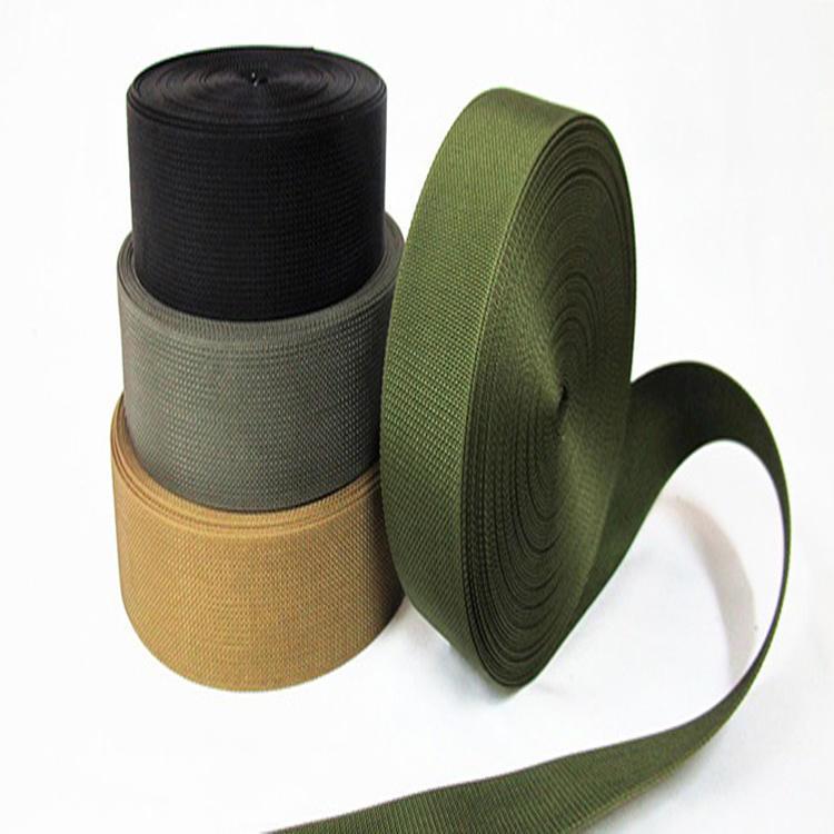 100% Polypropylene Webbing High Quality Custom Multi-Color for Belt