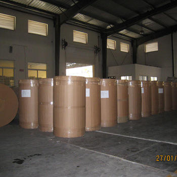 Our Factory Turkey Customer Yellowish BOPP Jumbo Roll Tape