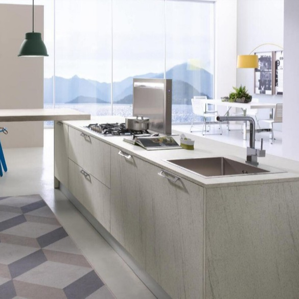 Simple Designs Modern Wooden Wall Kitchen Cabinet