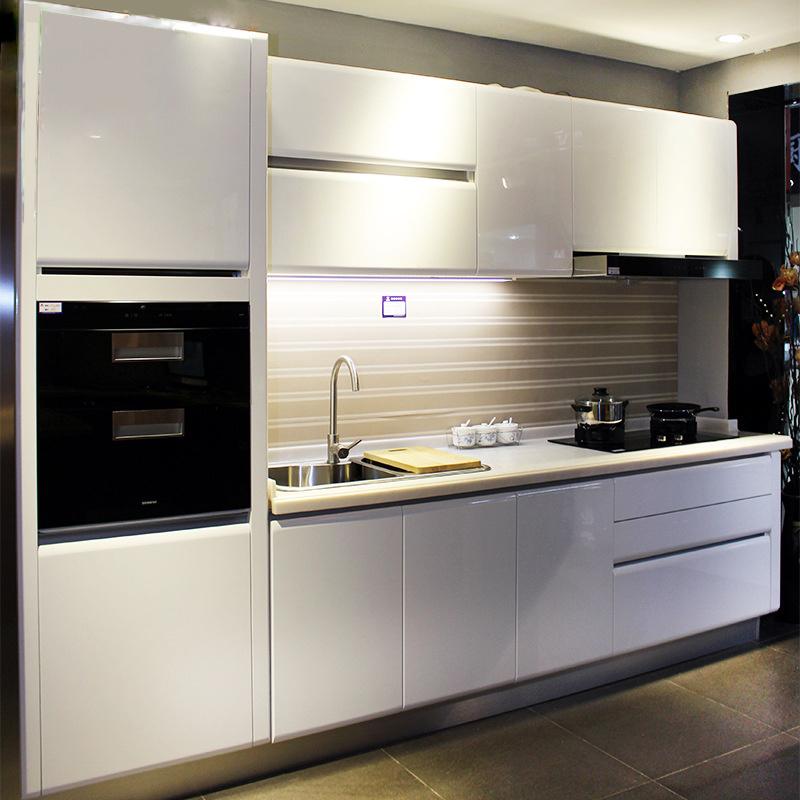 Manufacturer Direct Baking Customized European Modern Cabinets Integral Kitchen Cabinets