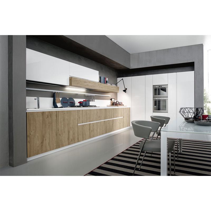 PVC Modern Factory Latest Designs White Shaker WoodKitchen Furniture Set Kitchen Cabinet
