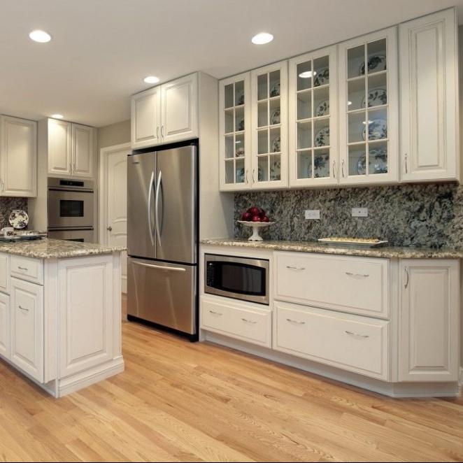 Economic Multi- choice material morden kitchen cabinet