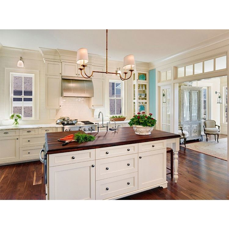 Design Kitchen Cabinets Supplier Cheap Modern Free Sample China Solid Wood Door & Drawer Base Cabinets Lazy Susan Base Cabinets