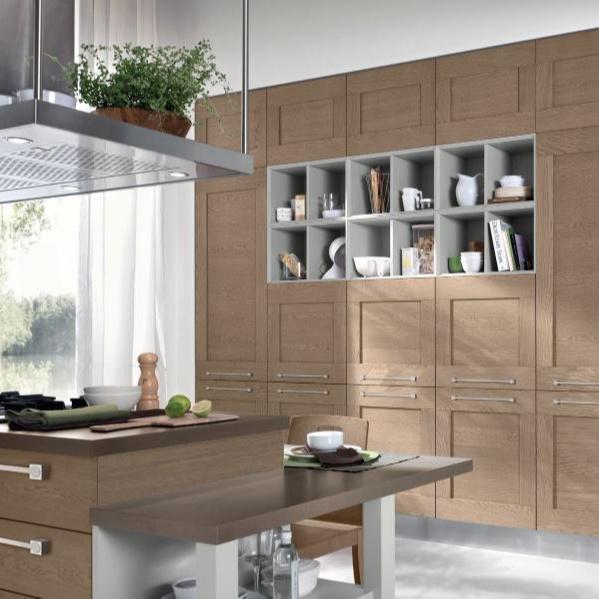 European Designs Solid Wood Kitchen Cabinet Sets