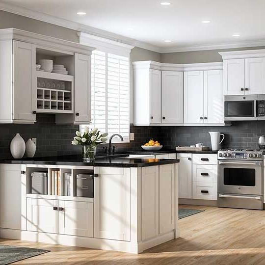 Eco-friendly Modern Kitchen Furniture MDF Kitchen Cabinet
