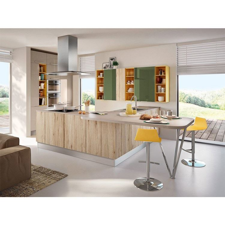 European Style Modern Design wood kitchen cabinet