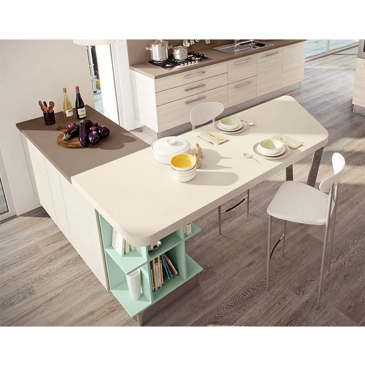 French Modern Custom High Gloss Small Complete Kitchen Cabinets Sets