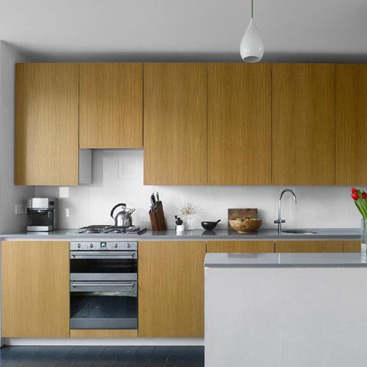 Wholesale modern kitchen cabinet shaped cupboard organizer wooden with showcase designs