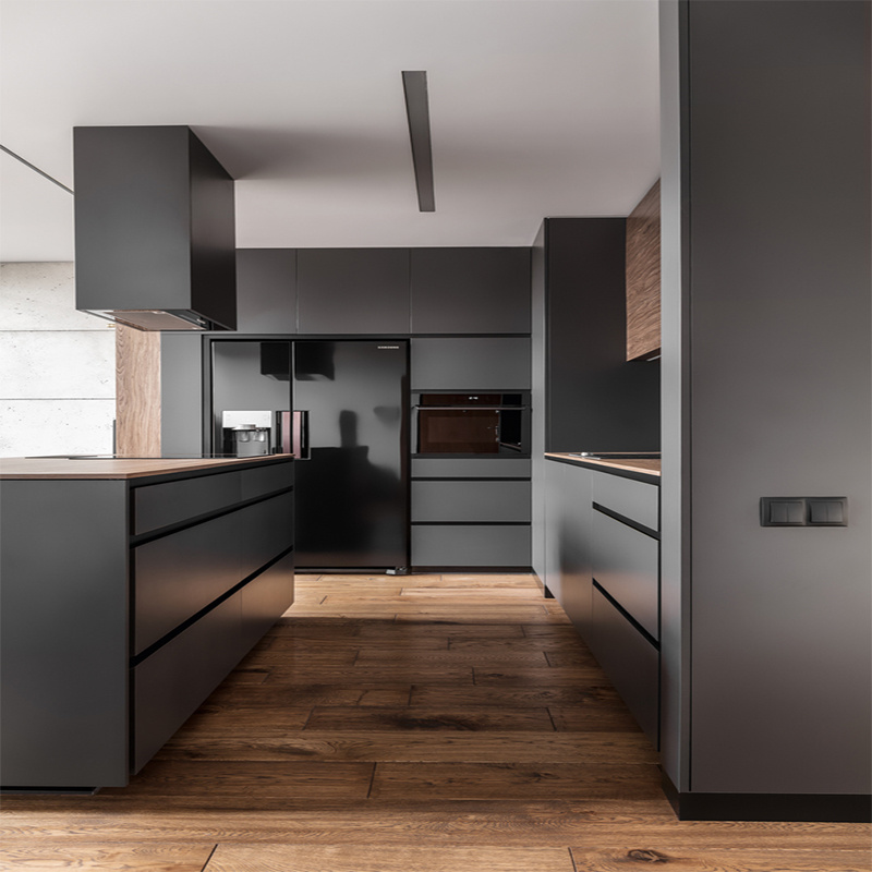 Free 3D Design Customized LuxuryKitchen Cabinet Furniture