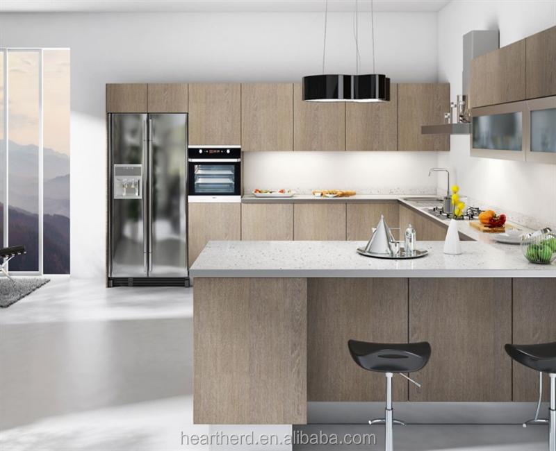 Modern Design HPL Kitchen Cabinet Made in China
