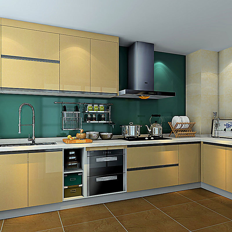 Kitchen furniture overall cabinets American solid wood multi-layer cabinets