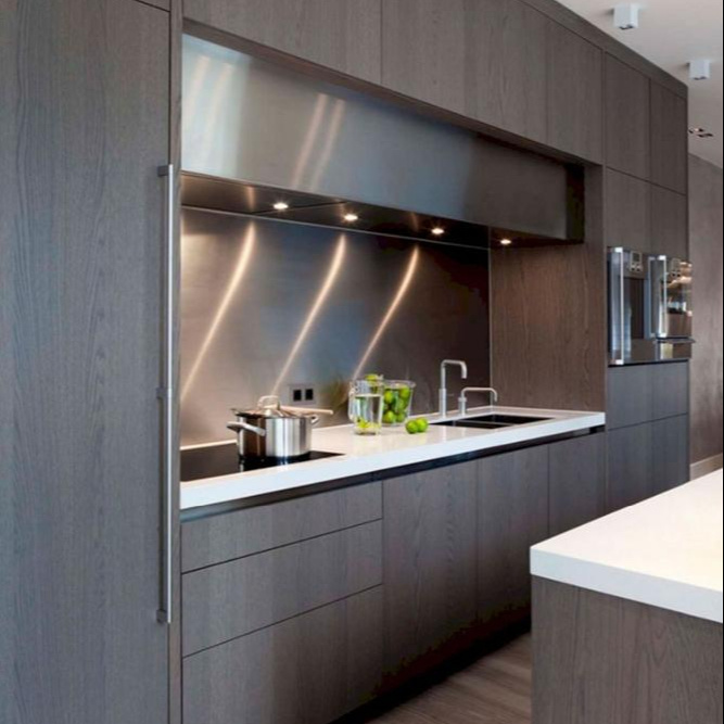 New Professional Designs Custom made Kitchen Cabinets Solid Wood Kitchen Cabinet Doors Manufacturer Direct Sale