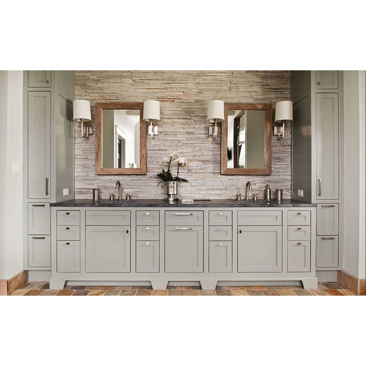 China Manufacturer RTA American style Fashion Modern Wooden Kitchen Cabinet