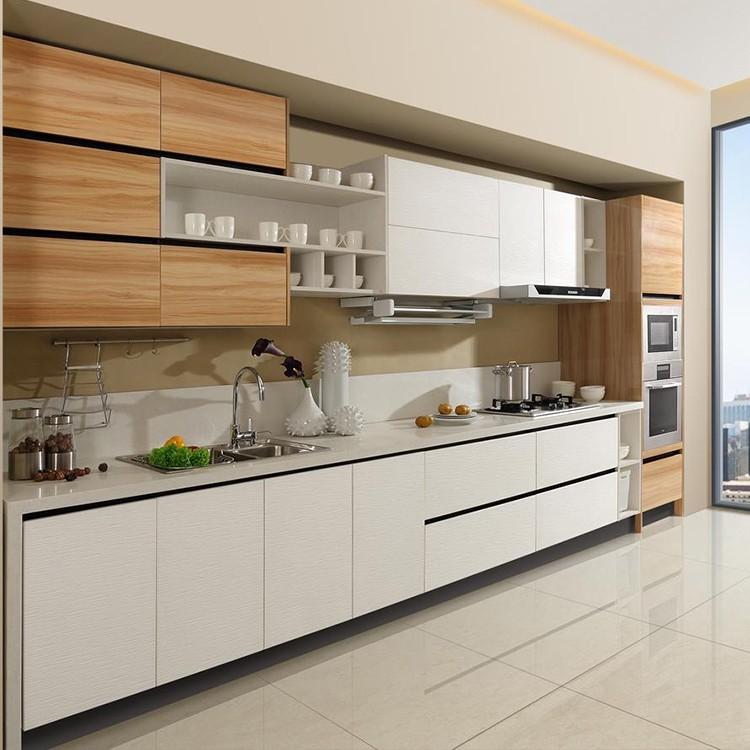 Direct Sale Wood Modern Kitchen Cabinet Cupboard Design