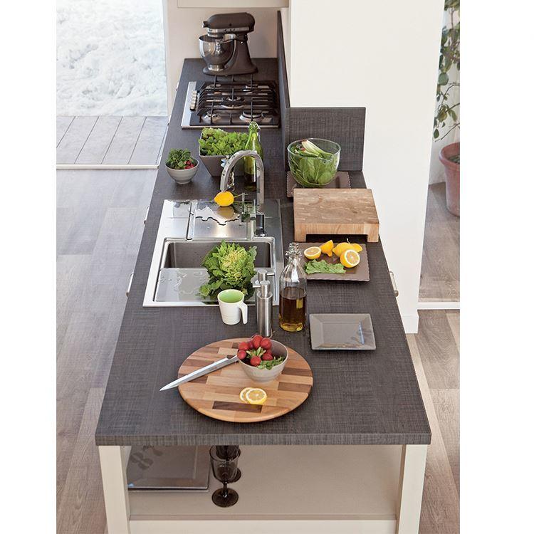 Apartment Low Price Small Maker Modular Design Pure Colour Standard Kitchen Cabinet