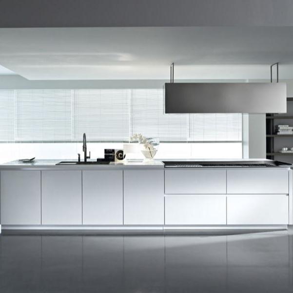 OEM Latest Modern Kitchen Furniture PVC Designs Hign Gloss Cabinet