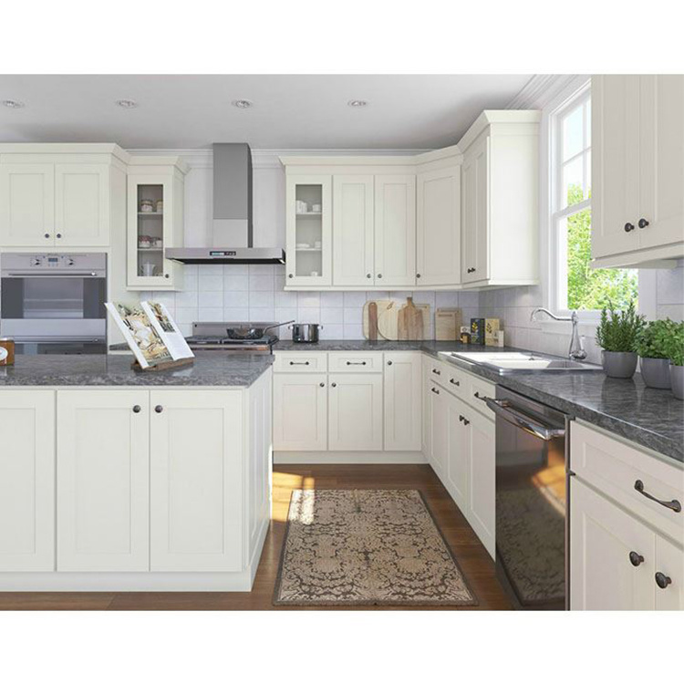 Mdf Kitchen Cabinet for Customized Affordable Price High Glossy White Solid Wood Base Cabinets Modern Graphic Design Lacquer