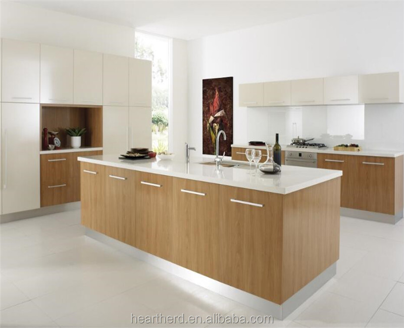 Eco-friendly Pvc Surface And Solid Wood Material Whole Office Kitchen Cabinets Set Wholesale