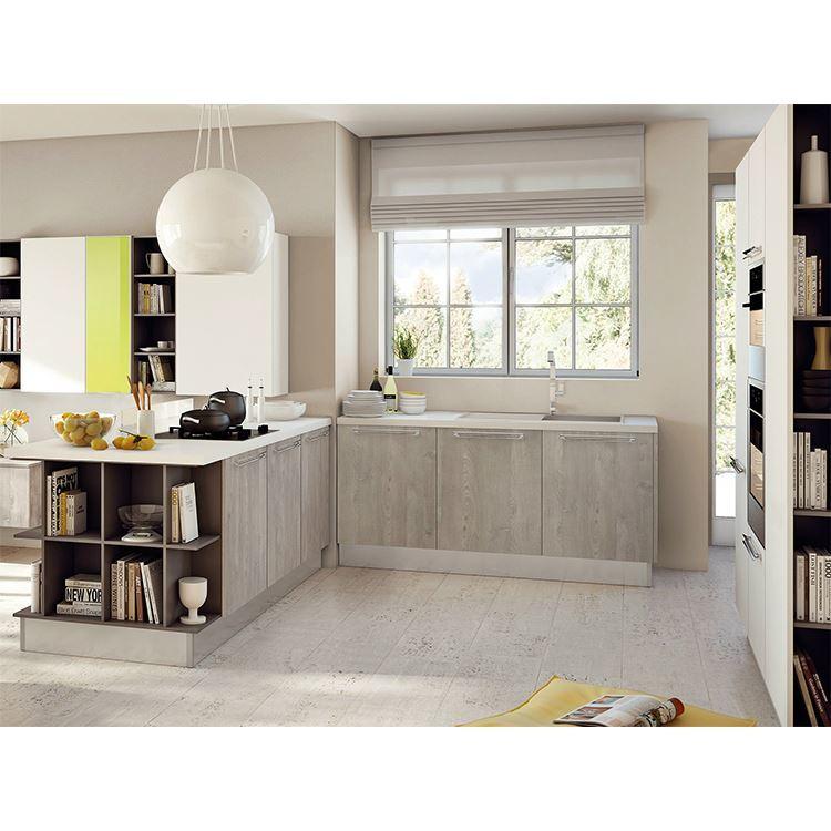 Good Quality Kitchen Cupboard Organizer Cabinet Storage Ready Made Solid Wood Kitchen Cabinet