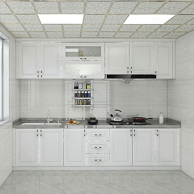 Factory direct overall kitchen cabinets North American solid wood cabinets American overall cabinets