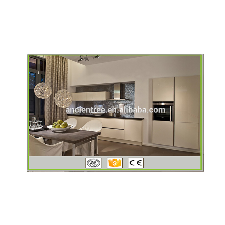 Wholesale Modern Style High Gloss PVC Thermofoil Kitchen Cabinet Furniture