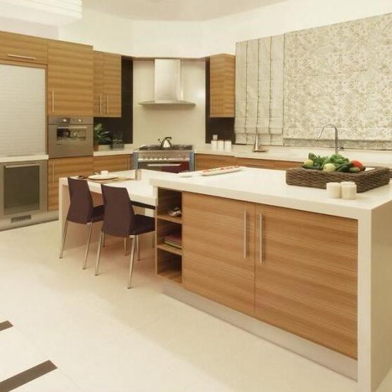 Solid Wood Morden Kitchen Cabinet Kitchen Design Capboard Kitchen Cupboards