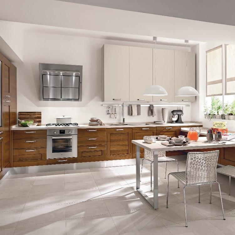 Apartment Hanging Design Furniture Wood Kitchen Cabine