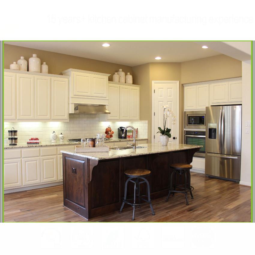 Honey maple shaker kitchen cabinet modern small kitchen design