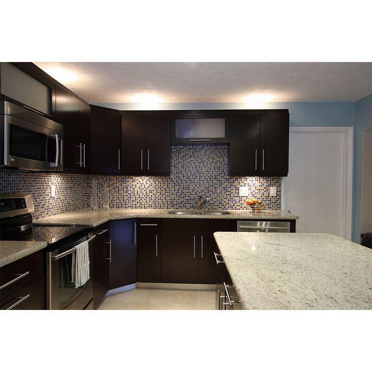 Luxury Color Customized Modern Kitchen Cabinet Wood Designs Solid Door & Drawer Base Cabinets Graphic Design Drawer SLIDE MDF
