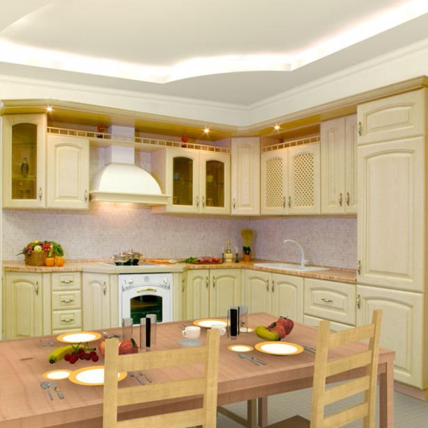 High End and Multi- Choice for Material of Morden Kitchen Cabinet Malaysia Solid Wood Acrylic Modern Graphic Design PVC Membrane