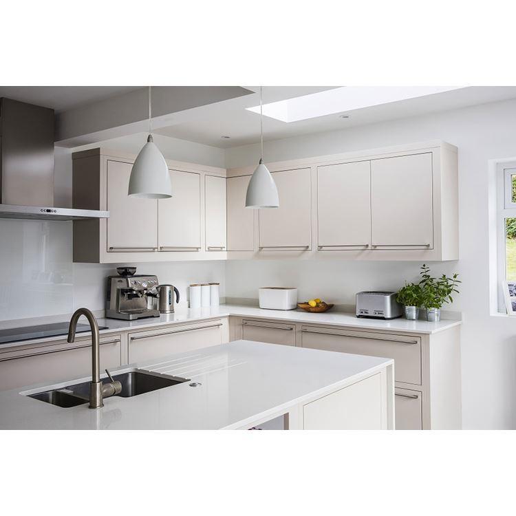 Custom Manufactory White Blue Kitchen Cabinet Design For Sale