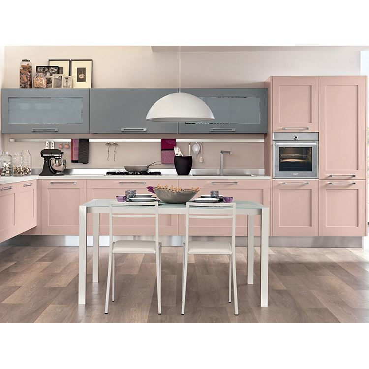 High Quality Pulls New Model Style Ce Wood Kitchen Cabinet