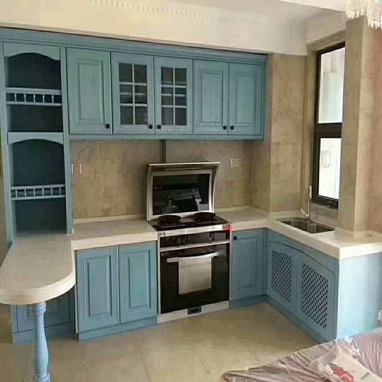 Ambry manufacturers professional custom European kitchen cabinet furniture factory direct selling