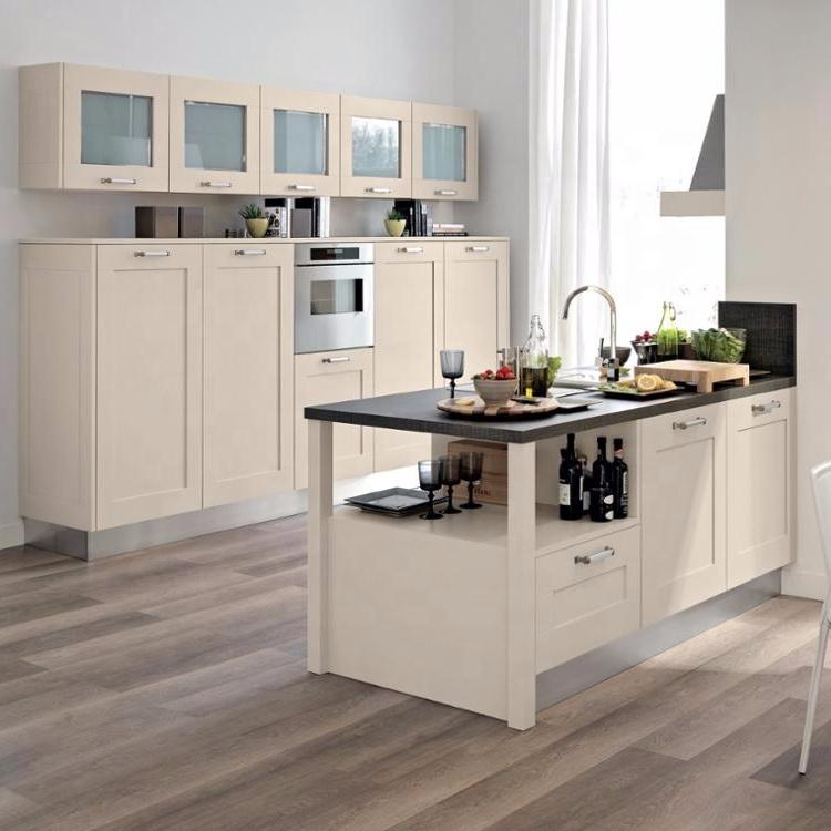 New Modern pvc mdf kichen cabinets kitchen